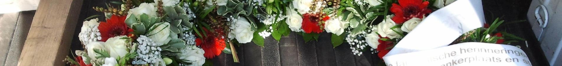bloemen versturen naar  rouwkransen